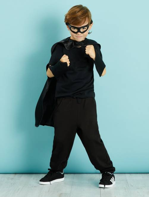 Déguisement de super-héros                             noir