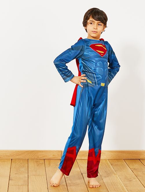 Déguisement de 'Superman'                             bleu/rouge Enfant