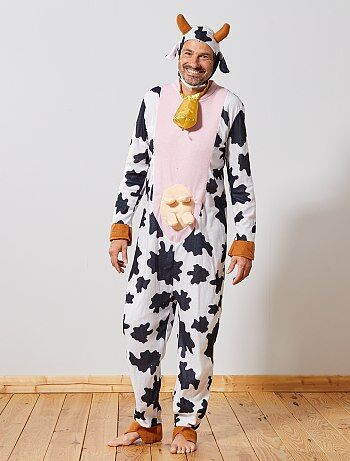 Homme - Déguisement de vache - Kiabi