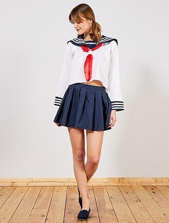 Femme - Déguisement d'écolière japonaise - Kiabi