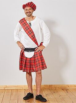 Homme - Déguisement d'écossais - Kiabi