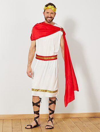 Homme - Déguisement d'empereur romain - Kiabi