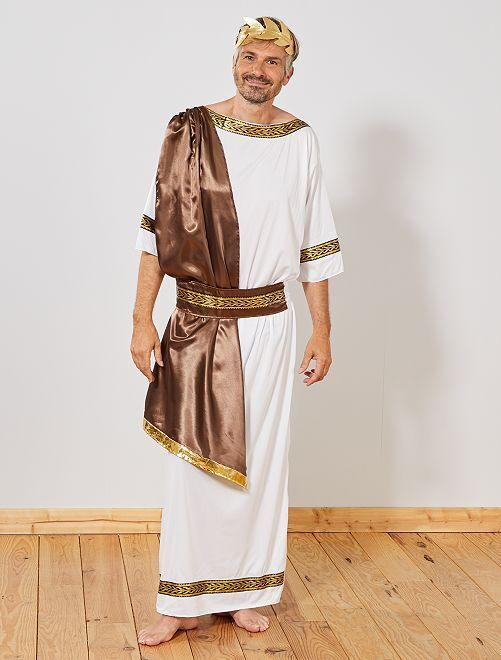 Déguisement dieu Grec                             blanc