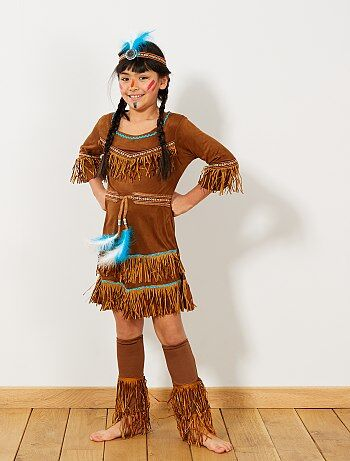 Enfant - Déguisement d'indienne - Kiabi