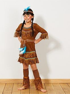 soldes costume cowboy indien pour enfant kiabi. Black Bedroom Furniture Sets. Home Design Ideas