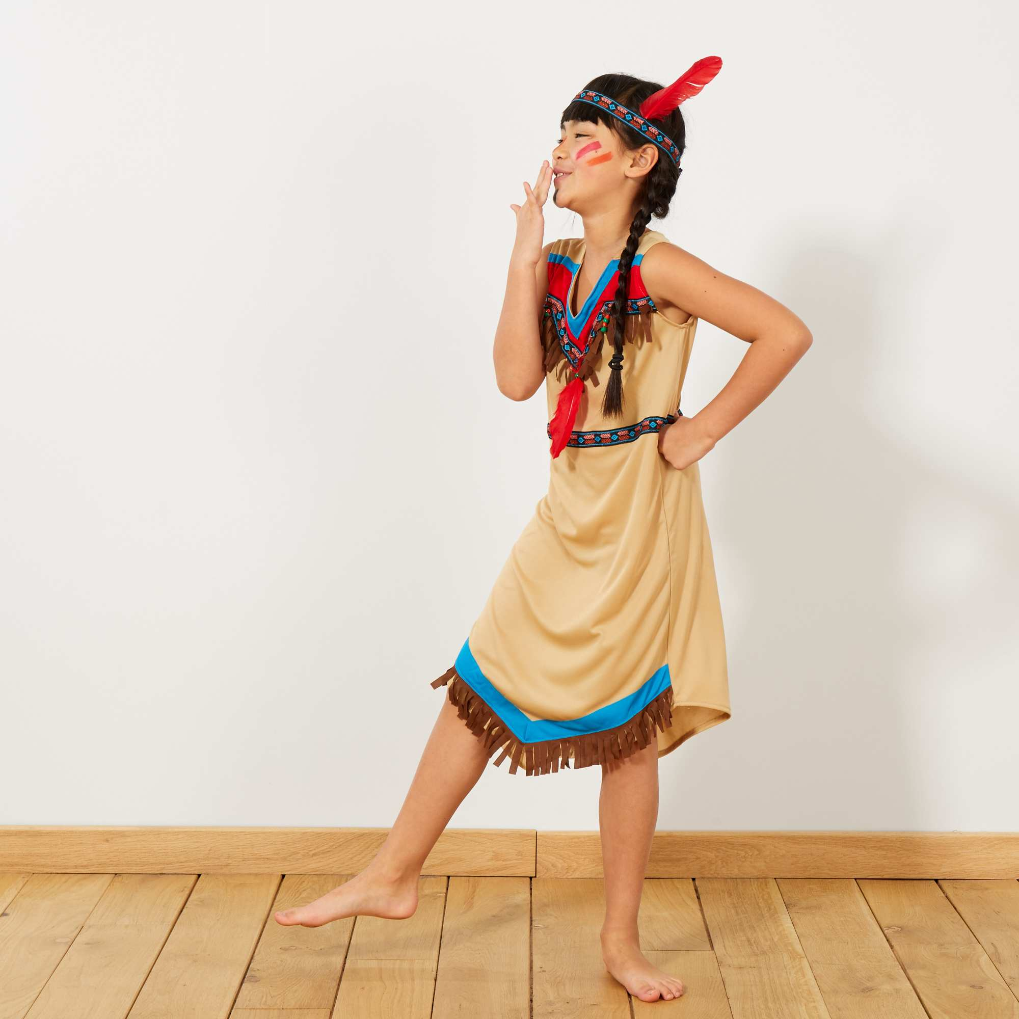 Souvent Déguisement d'indienne Enfant - marron - Kiabi - 18,00€ KT09