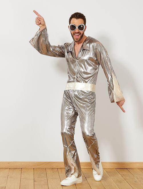 Déguisement disco Homme - argent - Kiabi - 25,00€ bf360072ea2