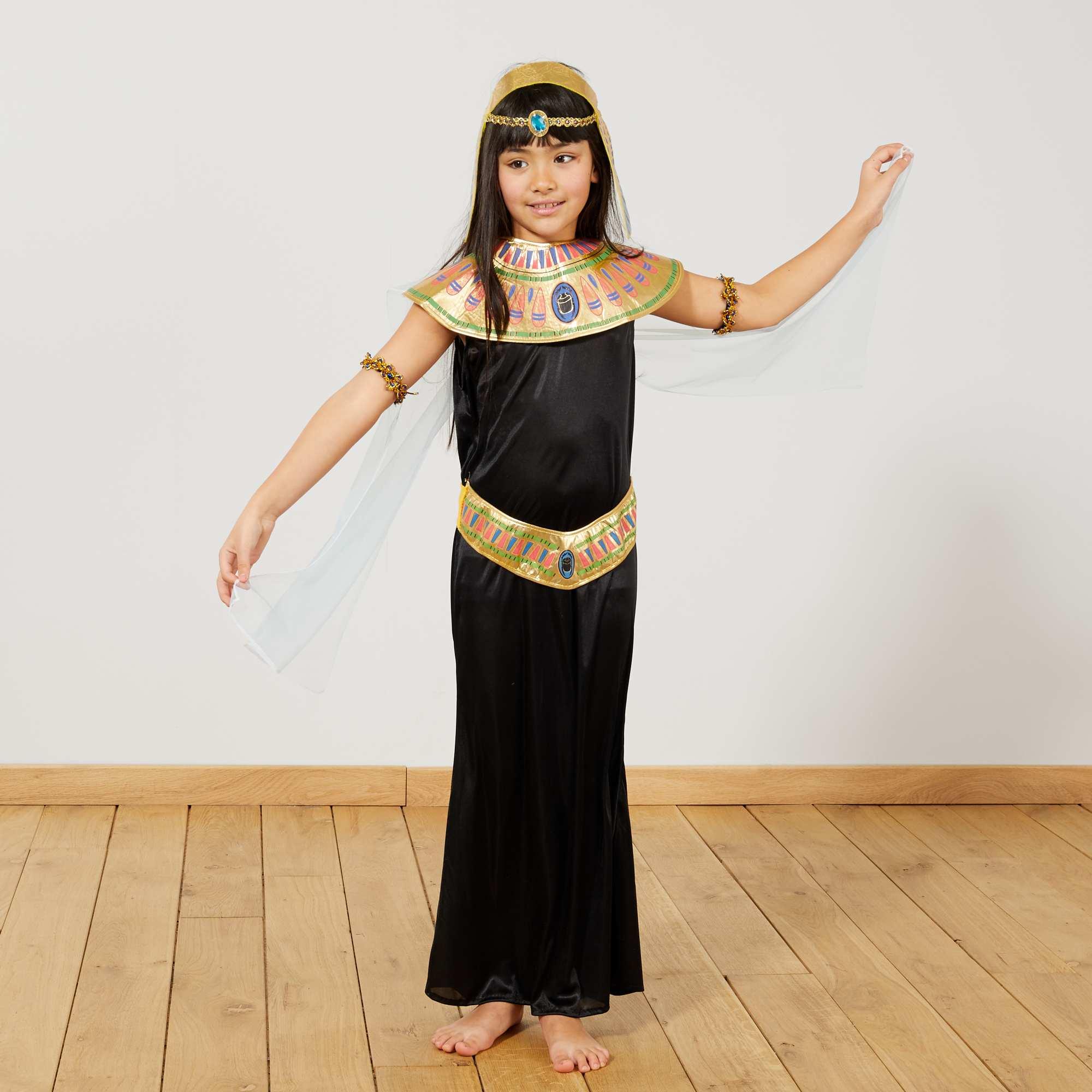 7ebd7f234f3ad Déguisement egyptienne Enfant - noir - Kiabi - 22,00€