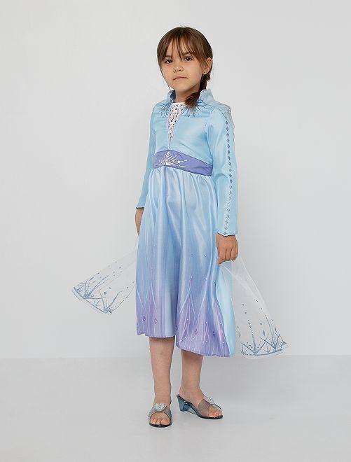 Déguisement 'Elsa' de 'La Reine des Neiges 2'                             bleu