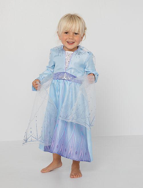 Déguisement 'Elsa La Reine des Neiges'                             bleu