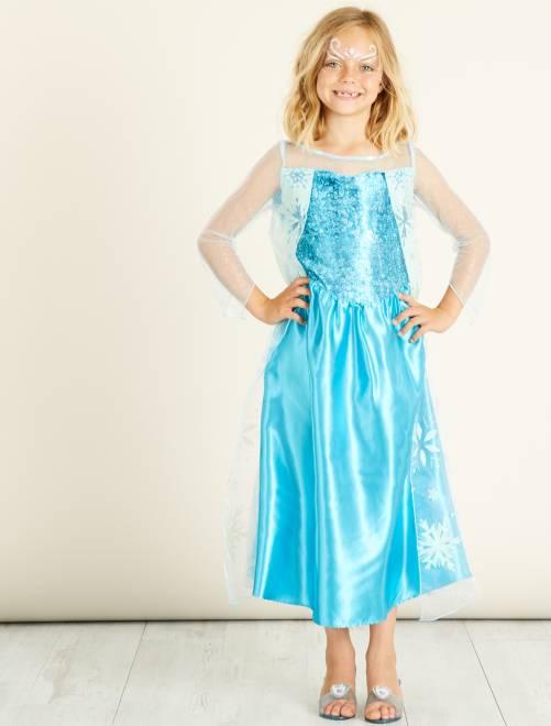 Déguisement 'Elsa' 'La Reine des Neiges'                             bleu