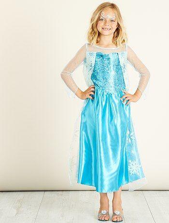 Déguisement `Elsa` `Reine des Neiges`