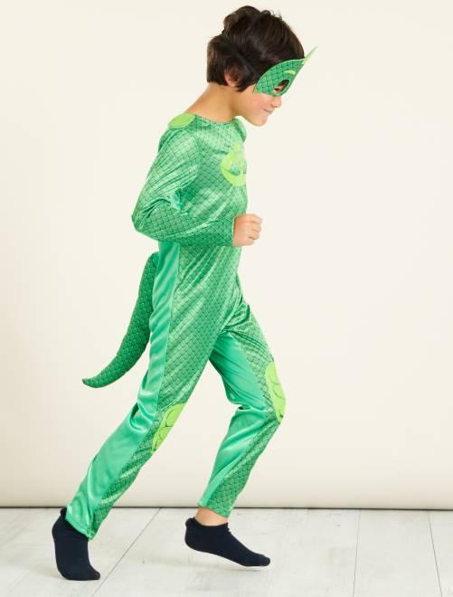 Déguisement 'Gluglu' des 'PJ Masks'                             vert Enfant