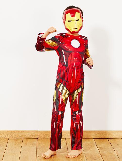Déguisement 'Iron Man'                             rouge/jaune Enfant