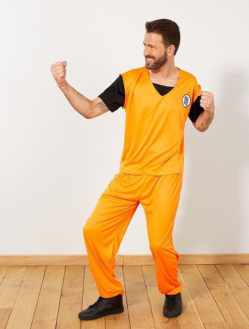 Déguisement manga                             orange