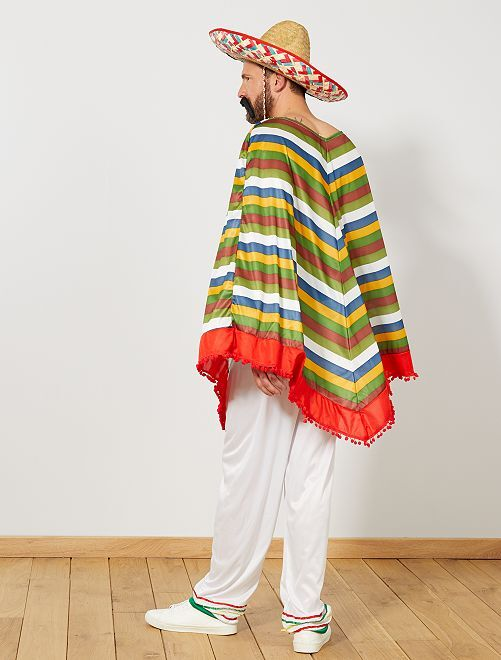 d guisement mexicain homme multicolore kiabi 20 00. Black Bedroom Furniture Sets. Home Design Ideas
