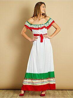 Déguisement femme - Déguisement mexicaine - Kiabi