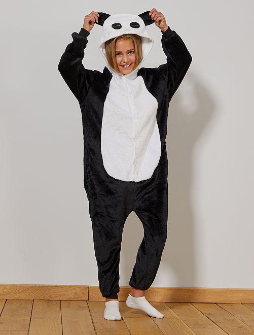 Déguisement Panda                             noir/blanc