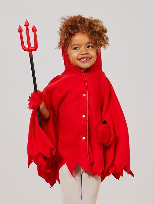 Déguisement petit diable                             rouge
