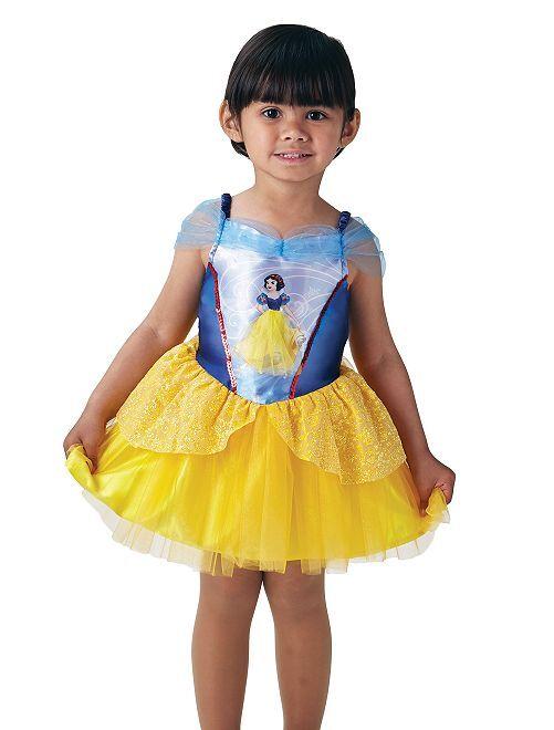 Déguisement robe 'Blanche Neige'                             bleu/jaune
