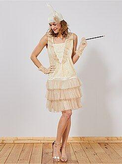 Déguisement femme - Déguisement robe charleston
