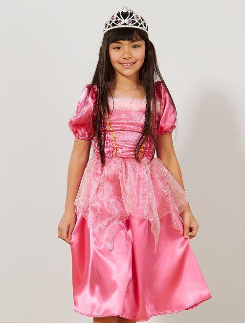 Déguisement robe de princesse                                          rose