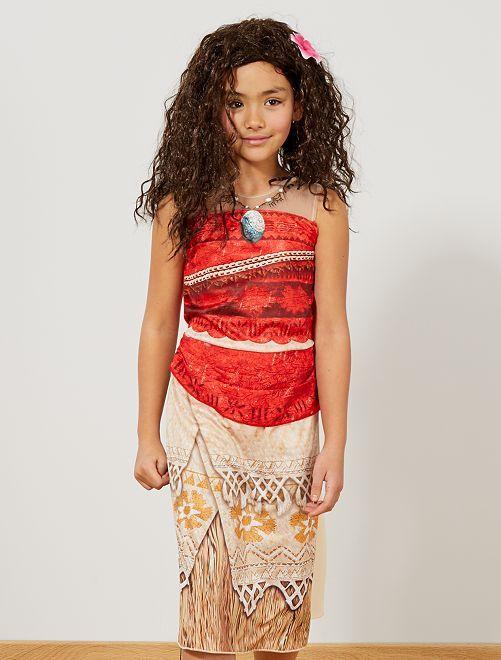 Déguisement robe de 'Vaiana'                             beige/orange