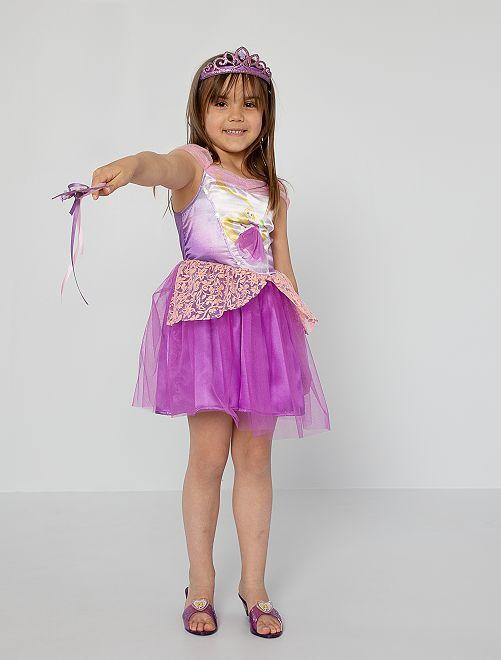 Déguisement robe 'Raiponce'                             violet/rose