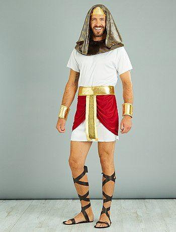 Homme - Déguisement roi égyptien - Kiabi