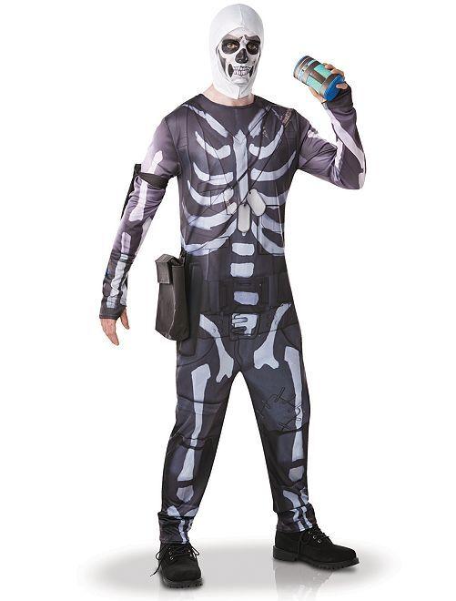 Déguisement 'Skull Trooper'                             noir/blanc