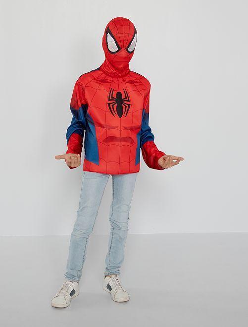 Déguisement 'Spider-Man'                             bleu/rouge