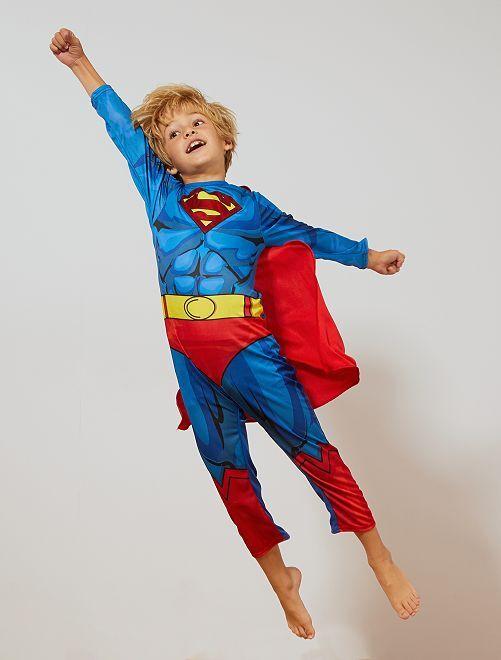 Déguisement 'Superman'                             bleu