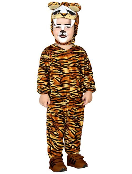 Déguisement tigre                             marron/jaune Bébé