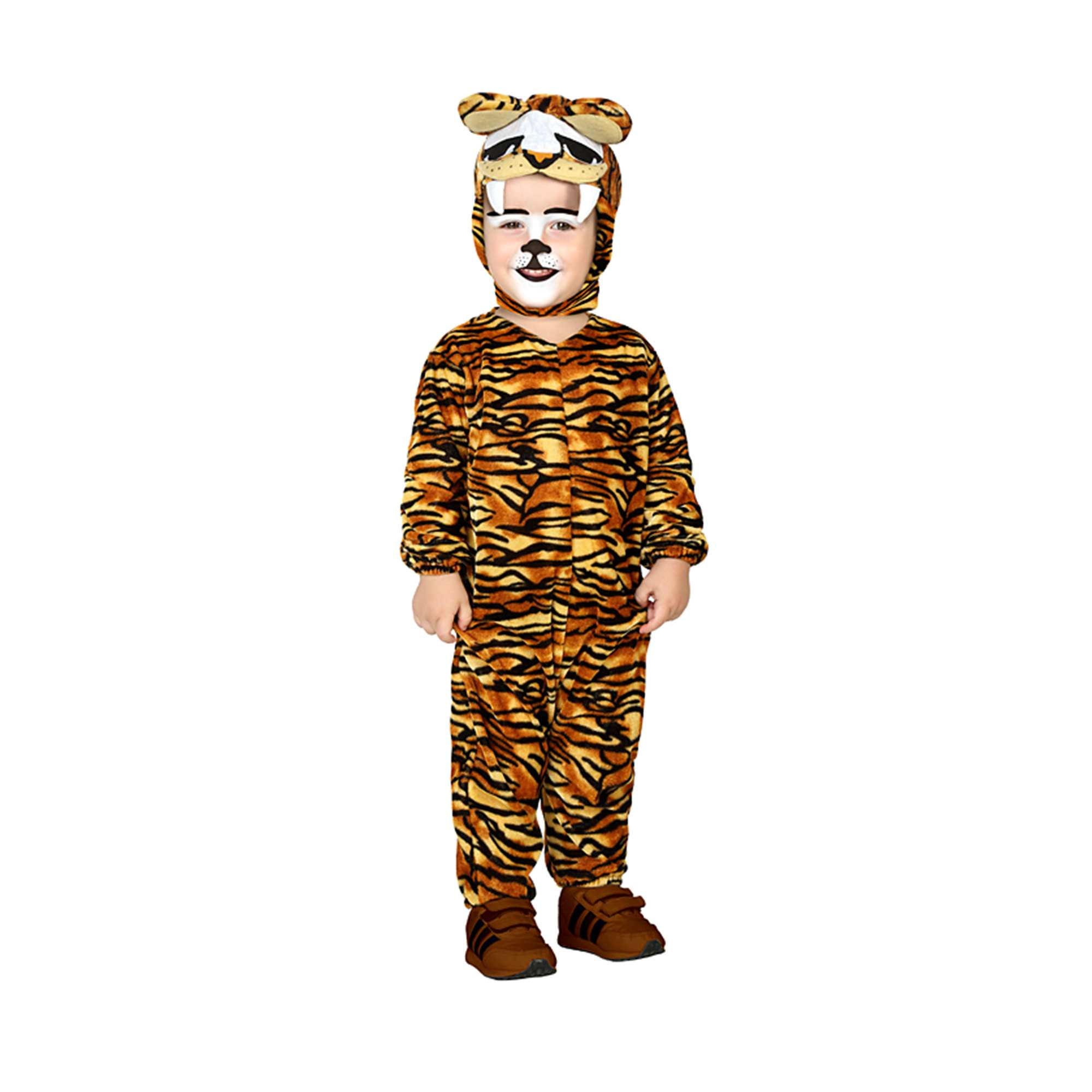 dc66425373183 Déguisement tigre Bébé - marron jaune - Kiabi - 15