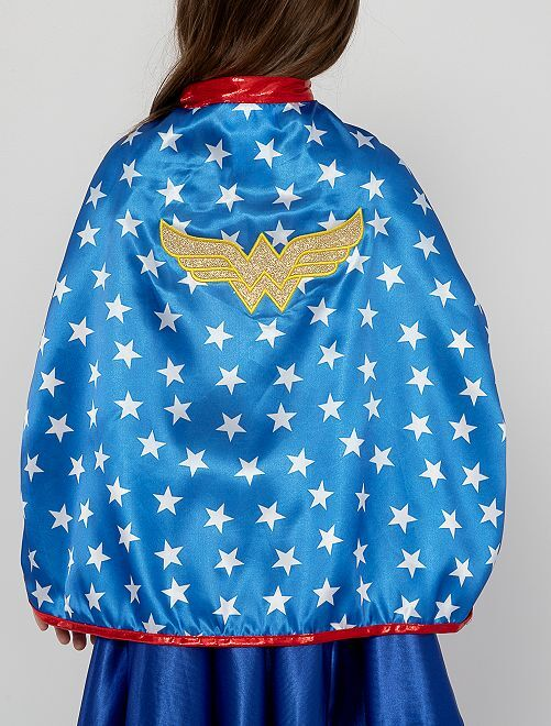 Déguisement 'Wonder Woman'                             bleu/rouge