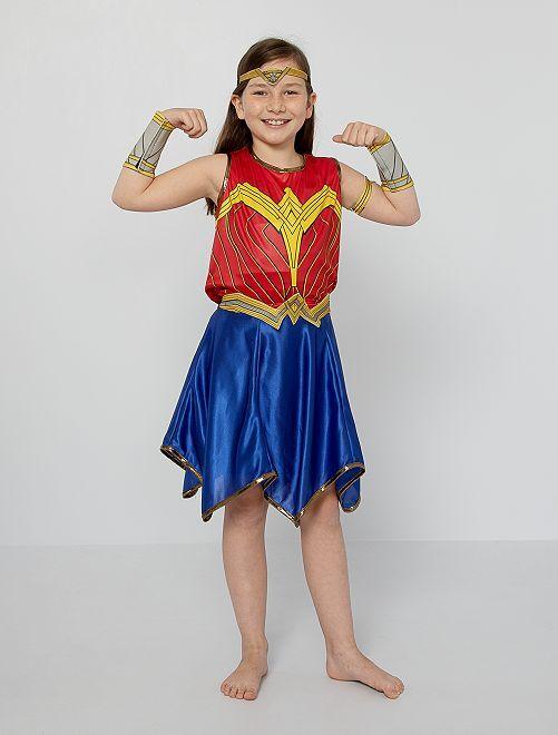 Déguisement 'Wonder Woman'                             rouge/bleu
