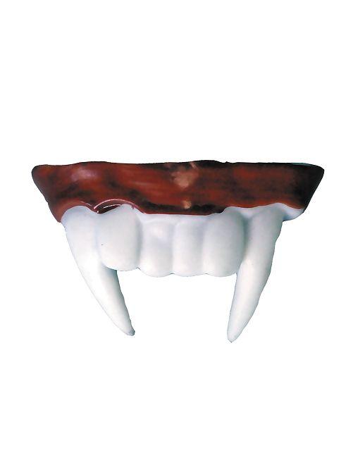 Dentier vampire                             blanc