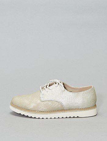 b7eb368193aa39 Soldes chaussures femme à lacets | derbies Femme | Kiabi