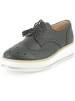 65785f139 chaussures derby plateforme,Stella McCartney Derby a plateforme ...