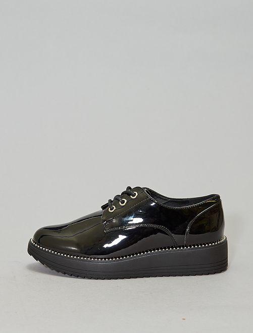 Derbies vernies                             noir Chaussures