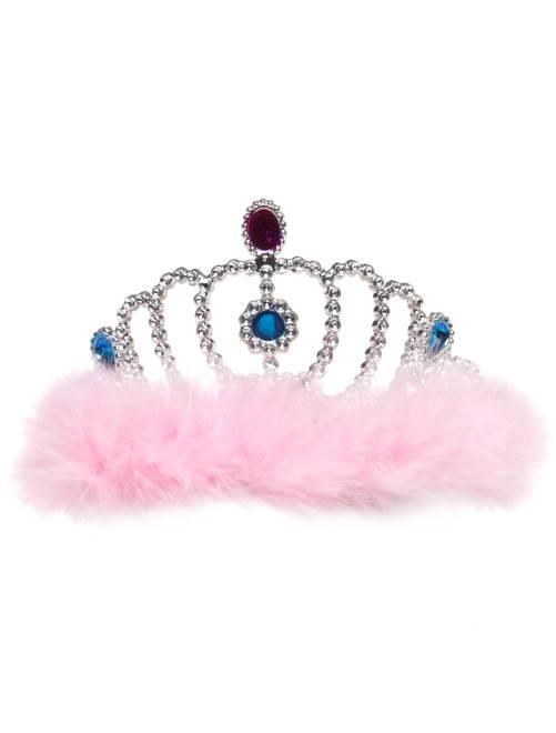 Diadème de princesse                              rose