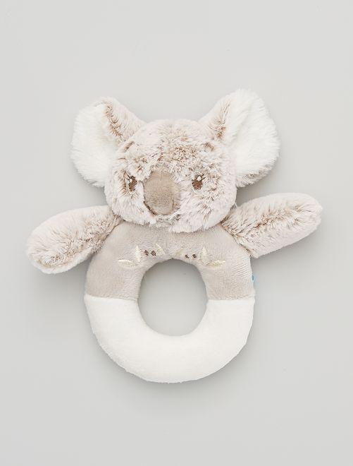 Doudou hochet 'Koala'                             écru/beige