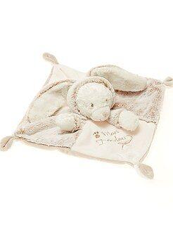 Garçon 0-36 mois - Doudou lapin ours - Kiabi