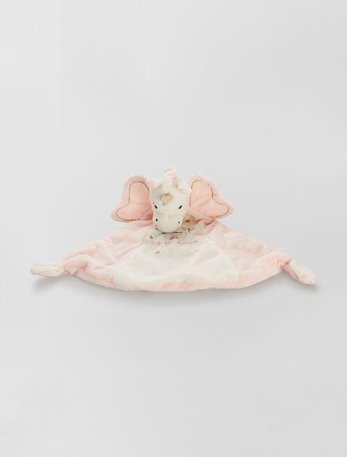 Doudou 'Licorne'                                         rose