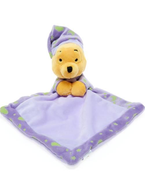 Doudou luminescent 'Winnie l'Ourson'                                                     violet parme