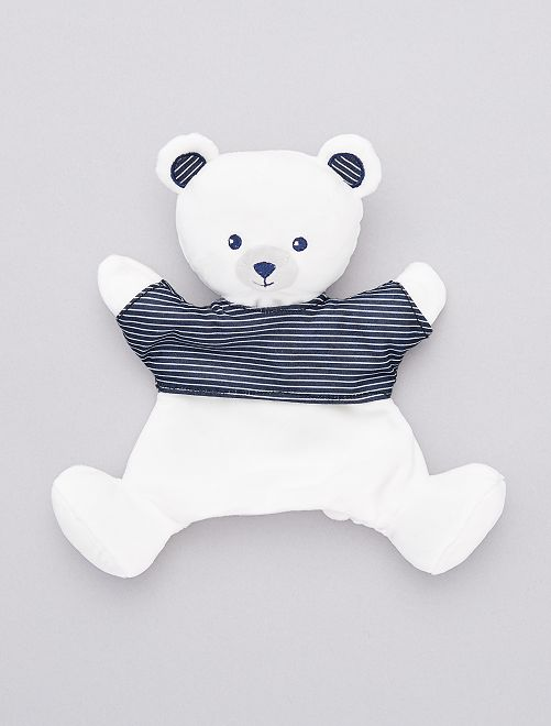 Doudou marionnette 'ours marin'                             ours