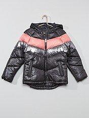 bas prix a58b8 1f08e Manteau fille, achat de vestes & blousons pour filles ...