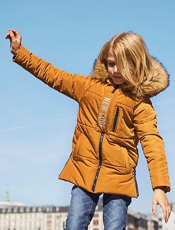 Garçon 3-12 ans - Doudoune à capuche - Kiabi
