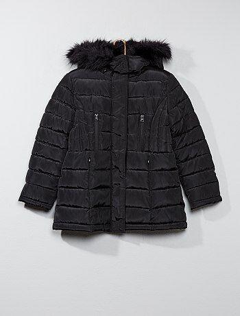 5e93af9744 Doudoune Vêtements fille | noir | Kiabi