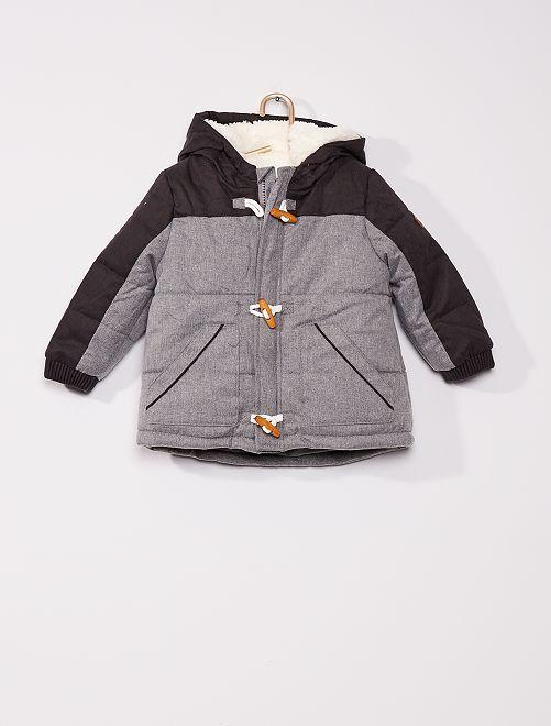 Doudoune éco-conçu                             gris